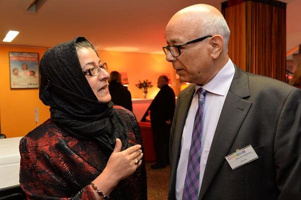 Hamideh Mohagheghi und Ali Faridi. Foto: Jens Schulze